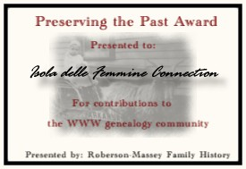 Preserving the Past Award